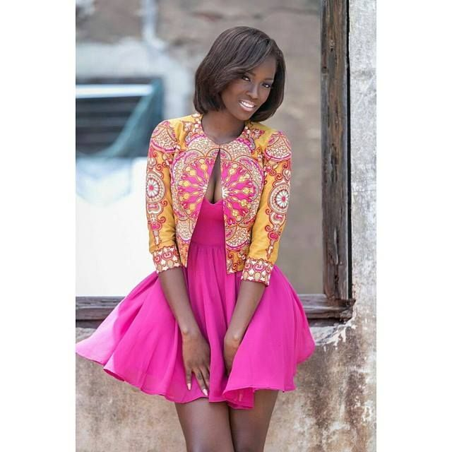 New Ankara Styles Siks Nd Tops: AMAZING ANKARA AND LACE LATEST STYLE